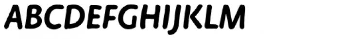 FF Duper OT Bold Italic Font UPPERCASE