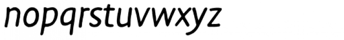 FF Duper Pro Italic Font LOWERCASE