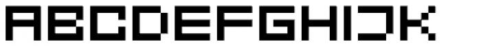 FF Eboy OT EXT Alpha Font UPPERCASE