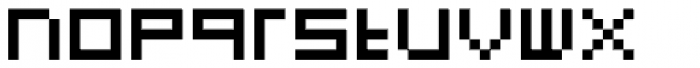 FF Eboy OT EXT Alpha Font LOWERCASE