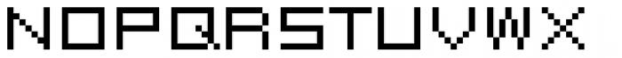 FF Eboy OT EXT Beta Font UPPERCASE
