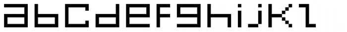 FF Eboy OT EXT Beta Font LOWERCASE