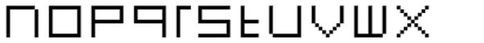 FF Eboy OT EXT Gamma Font LOWERCASE