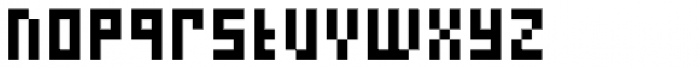 FF Eboy OT REG Alpha Font LOWERCASE