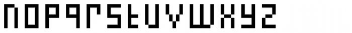 FF Eboy OT REG Beta Font LOWERCASE
