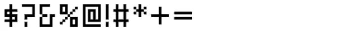 FF Eboy OT REG Gamma Font OTHER CHARS