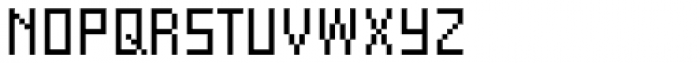FF Eboy OT REG Gamma Font UPPERCASE