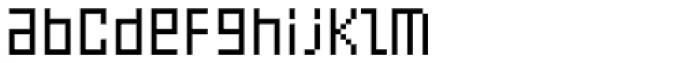 FF Eboy OT REG Gamma Font LOWERCASE