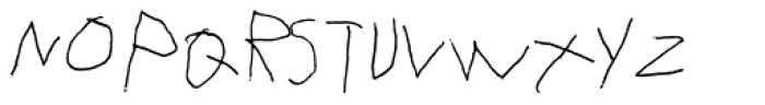 FF Eddie OT Regular Font UPPERCASE