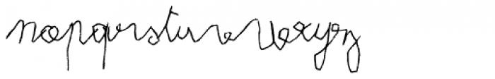 FF Eddie OT Regular Font LOWERCASE