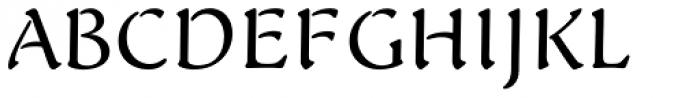FF Elegie OT Font UPPERCASE