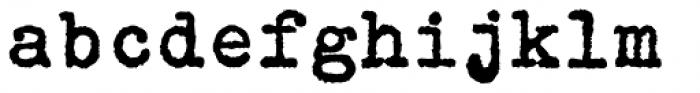 FF Elementa Rough Std Bold Font LOWERCASE