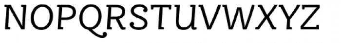 FF Ernestine Pro Italic Font UPPERCASE