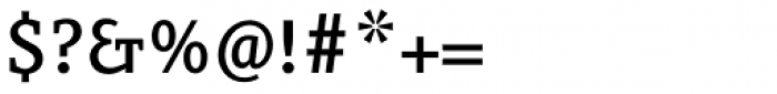 FF Eureka OT Medium Font OTHER CHARS