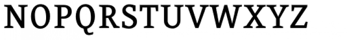 FF Eureka OT Medium Font UPPERCASE