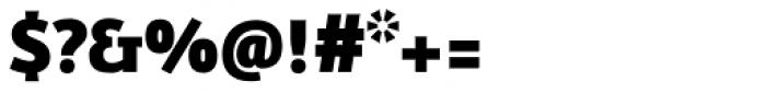 FF Eureka Sans OT Black Font OTHER CHARS