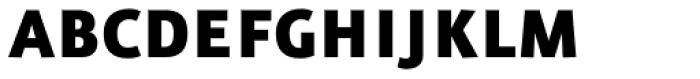 FF Eureka Sans OT Black Font UPPERCASE