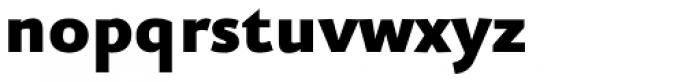 FF Eureka Sans OT Black Font LOWERCASE