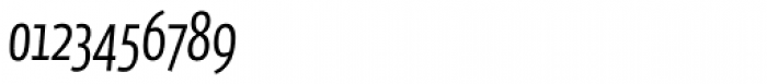 FF Eureka Sans OT Cond Light Italic Font OTHER CHARS