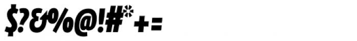FF Eureka Sans Offc Condensed Black Italic Font OTHER CHARS