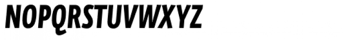 FF Eureka Sans Offc Condensed Bold Italic Font UPPERCASE