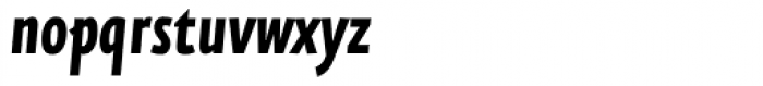 FF Eureka Sans Offc Condensed Bold Italic Font LOWERCASE