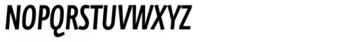 FF Eureka Sans Offc Condensed Medium Italic Font UPPERCASE