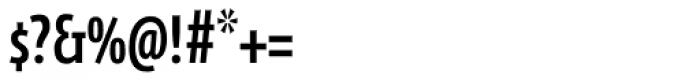 FF Eureka Sans Offc Condensed Medium SC Font OTHER CHARS