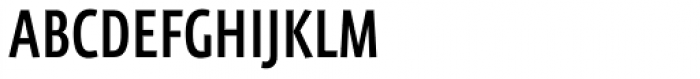FF Eureka Sans Offc Condensed Medium Font UPPERCASE