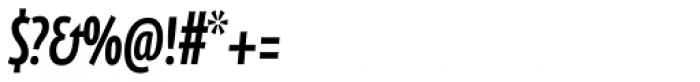 FF Eureka Sans Pro Cond Medium Italic Font OTHER CHARS