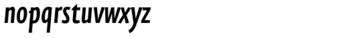 FF Eureka Sans Pro Cond Medium Italic Font LOWERCASE