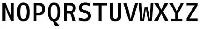 FF Fago Mono OT Medium Font UPPERCASE