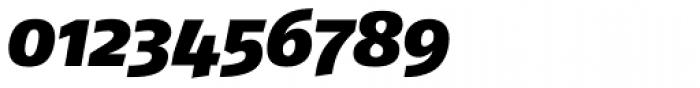 FF Fago Pro Black Italic Font OTHER CHARS