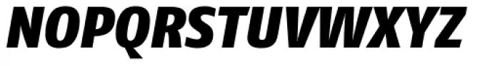 FF Fago Pro Black Italic Font UPPERCASE