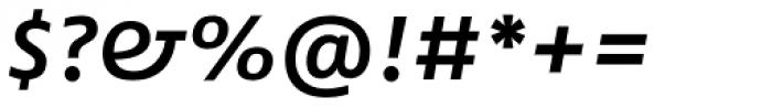 FF Fago Pro Extd Medium Italic Font OTHER CHARS