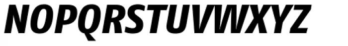 FF Fago Pro ExtraBold Italic Font UPPERCASE