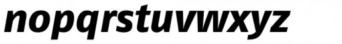 FF Fago Pro ExtraBold Italic Font LOWERCASE
