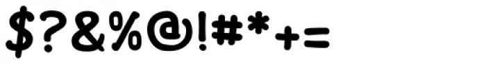 FF Font Soup Catalan OT Bold Font OTHER CHARS