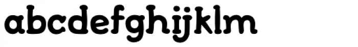 FF Font Soup Catalan OT Bold Font LOWERCASE