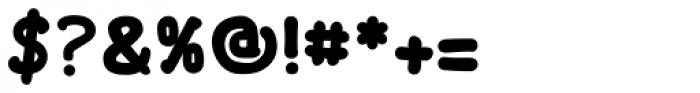 FF Font Soup Catalan OT ExtraBold Font OTHER CHARS