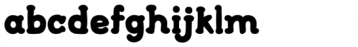 FF Font Soup Catalan OT ExtraBold Font LOWERCASE