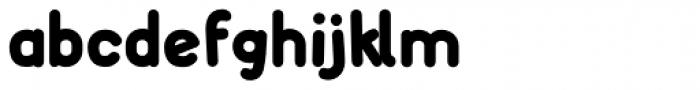FF Font Soup German OT ExtraBold Font LOWERCASE