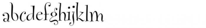 FF Fontesque Std Display Light Font LOWERCASE