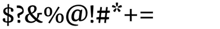 FF Franziska Pro Book Font OTHER CHARS