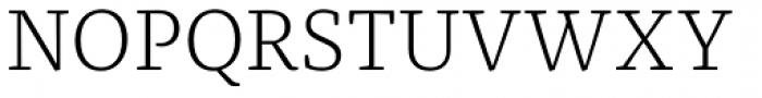 FF Franziska Pro Light Font UPPERCASE