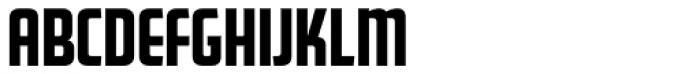 FF Golden Gate Gothic Font UPPERCASE