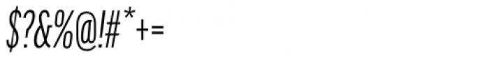 FF Good Headline OT Comp Italic Font OTHER CHARS