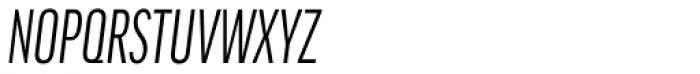 FF Good Headline OT Comp Italic Font UPPERCASE
