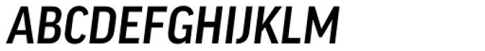 FF Good Headline OT Narr Medium Italic Font UPPERCASE