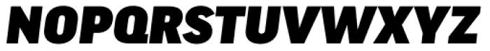 FF Good Headline OT Wide Ultra Italic Font UPPERCASE